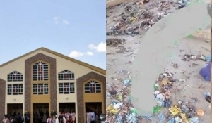 Drama As Landlady Litters Church With Trash To Force Pastor Out